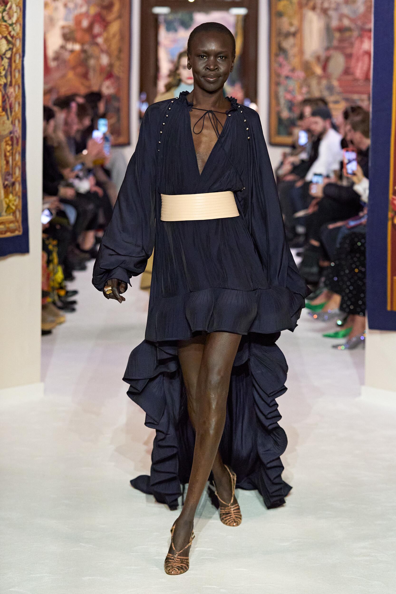 Catwalk Lanvin Woman Fashion Show Winter 2020