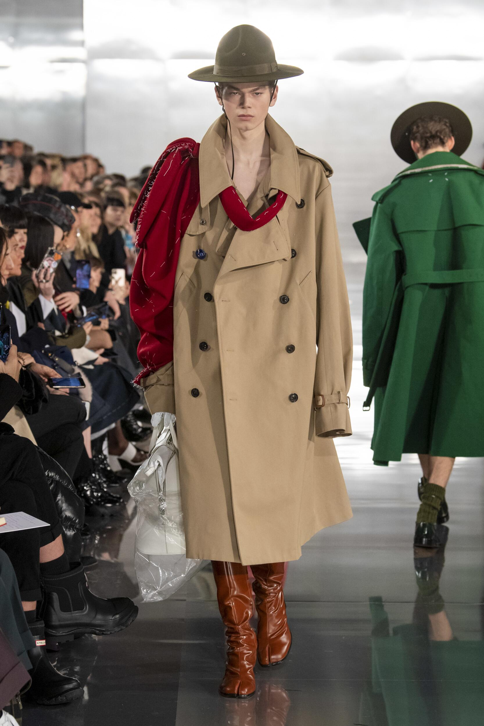 Catwalk Maison Margiela Men Fashion Show Winter 2020