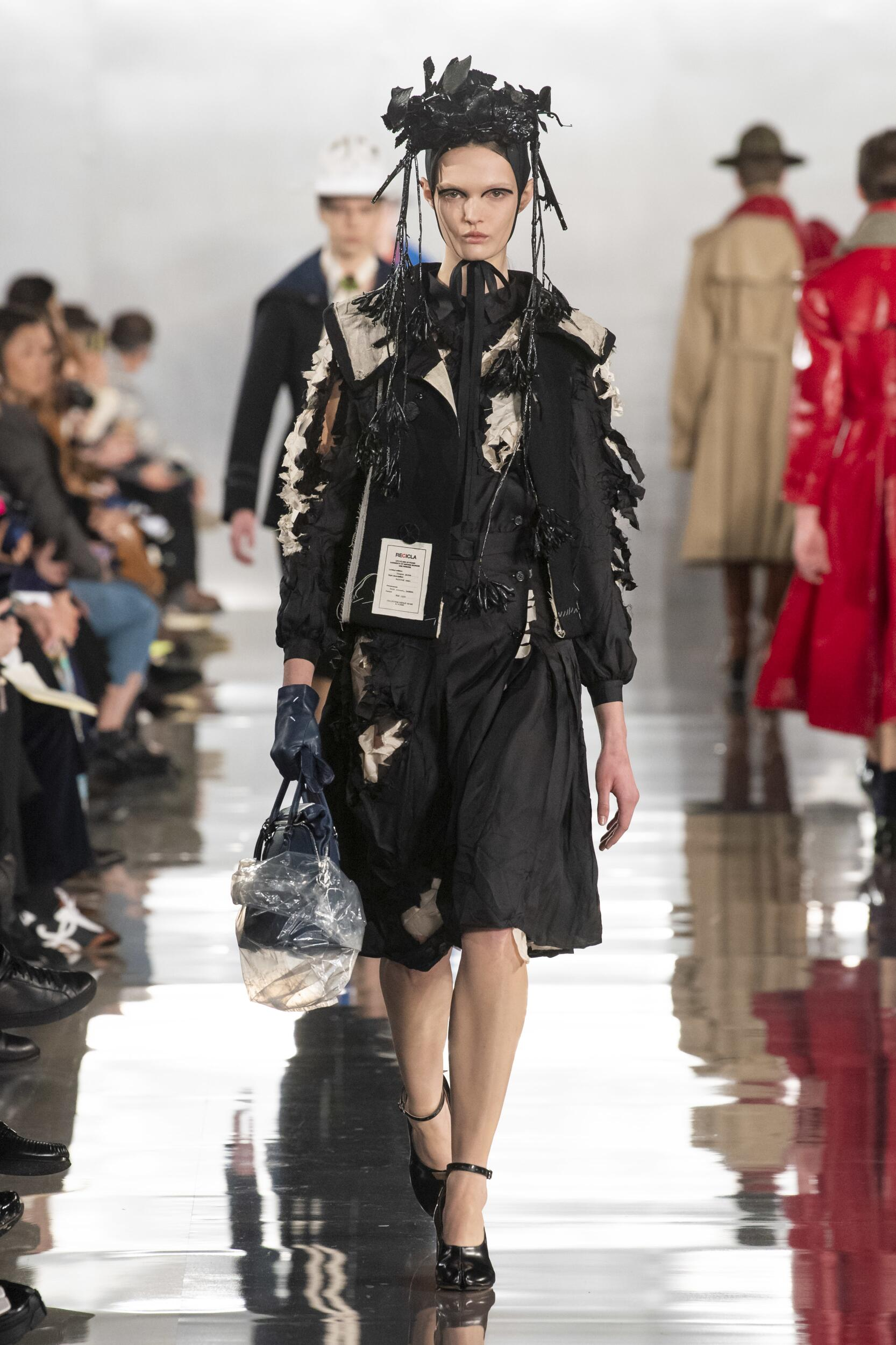 Catwalk Maison Margiela Woman Fashion Show Winter 2020