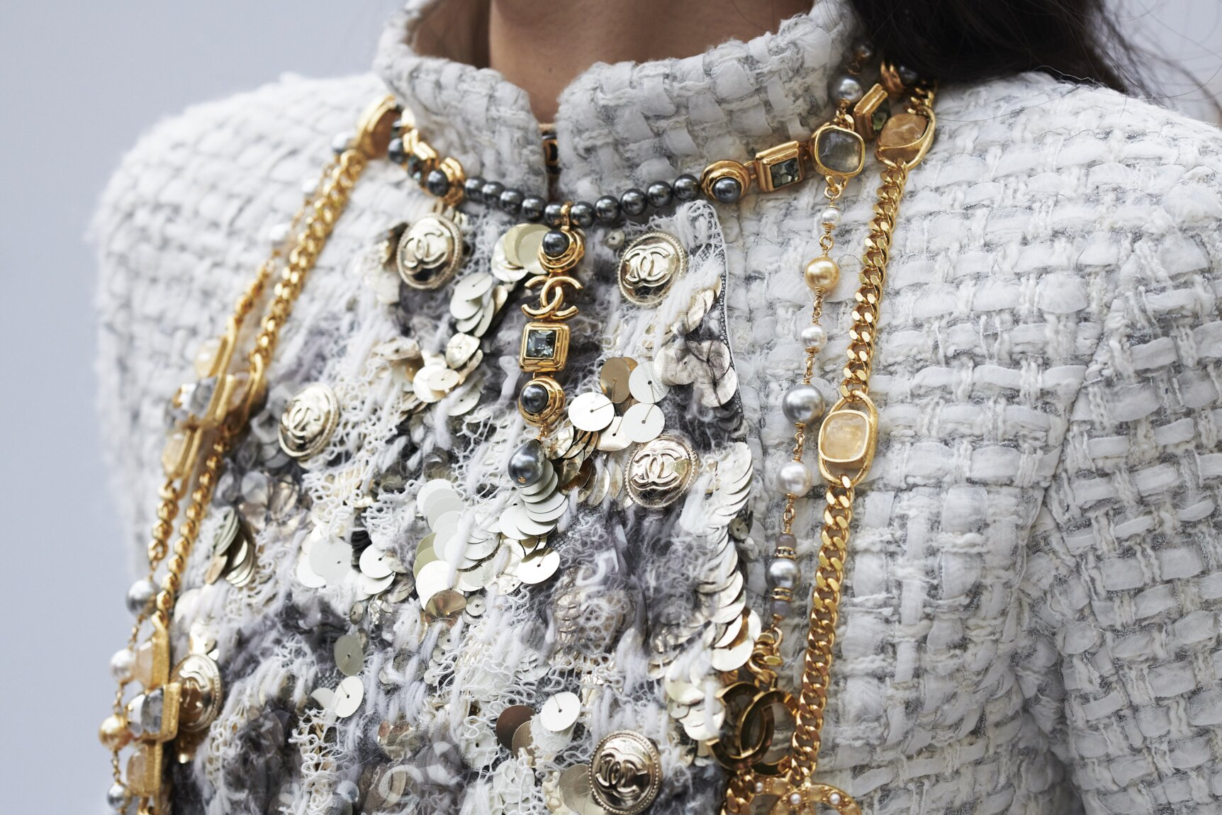 Detail Woman Necklace Chanel