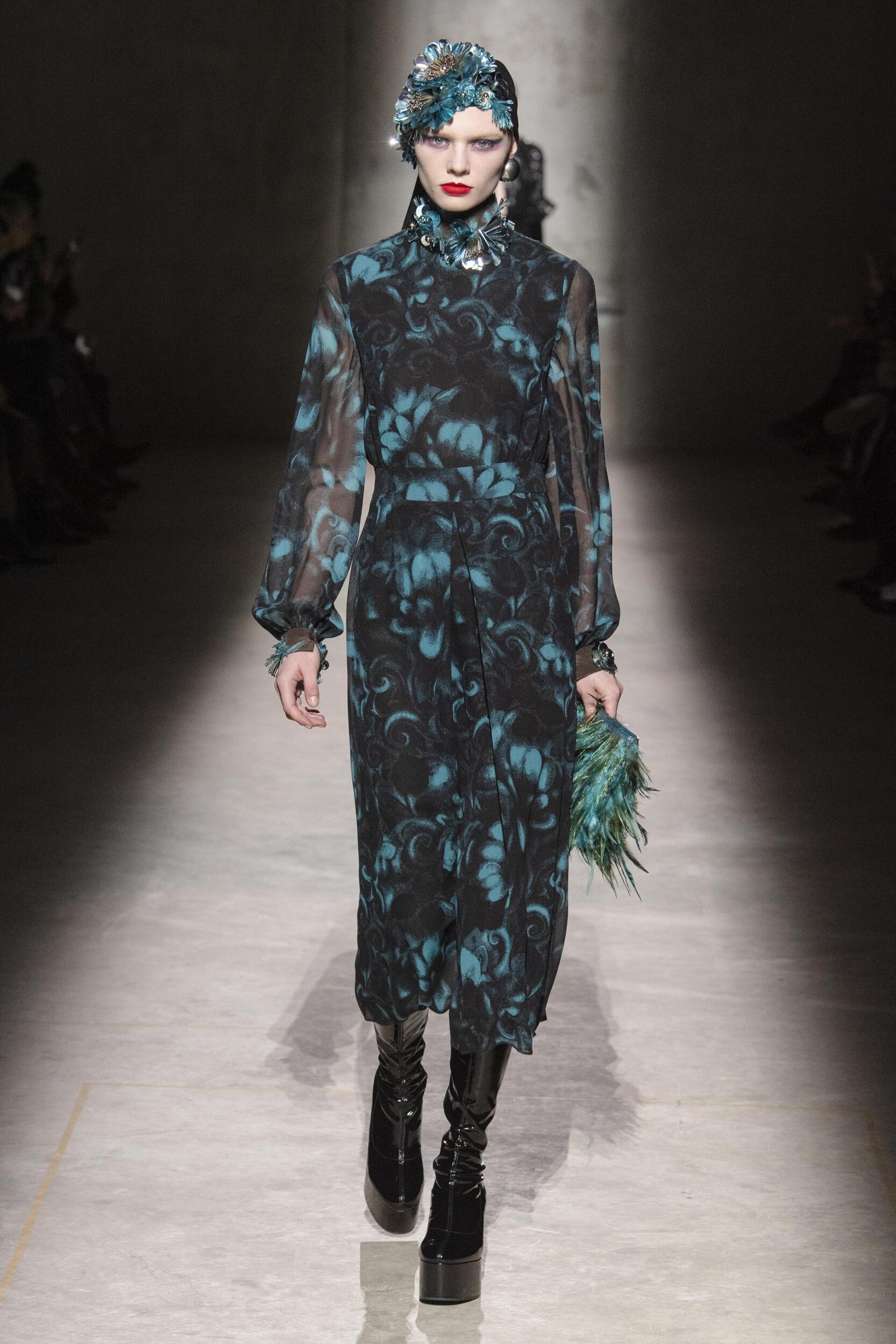 Dries Van Noten 2020 Paris Trends Womenswear
