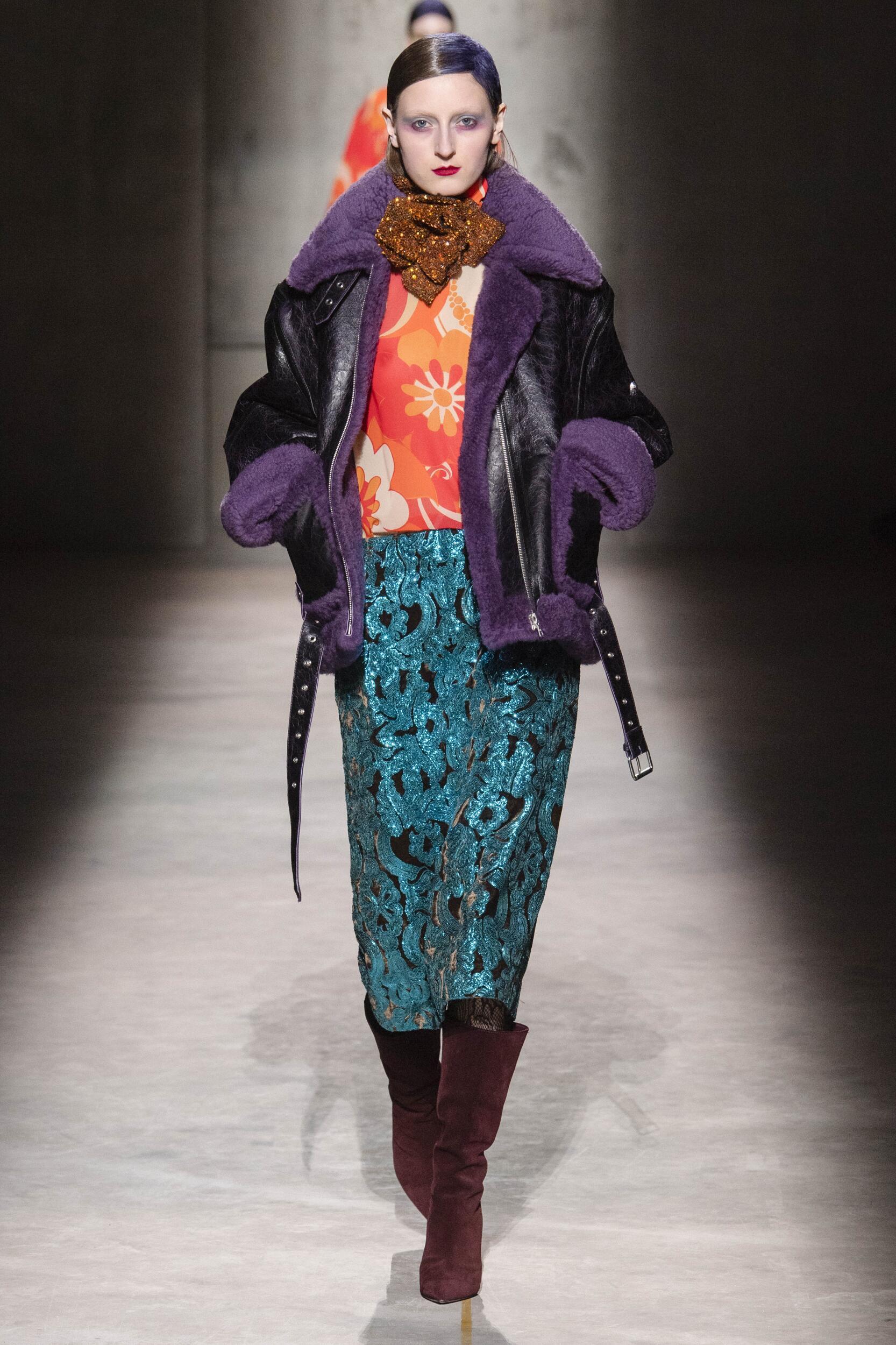 Dries Van Noten Paris Fashion Week Womenswear Trends
