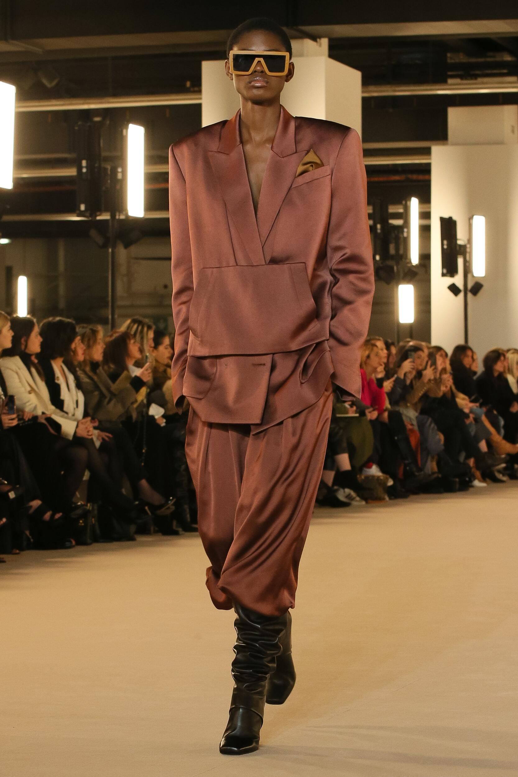 FW 2020-21 Balmain Fashion Show Paris Fashion Week