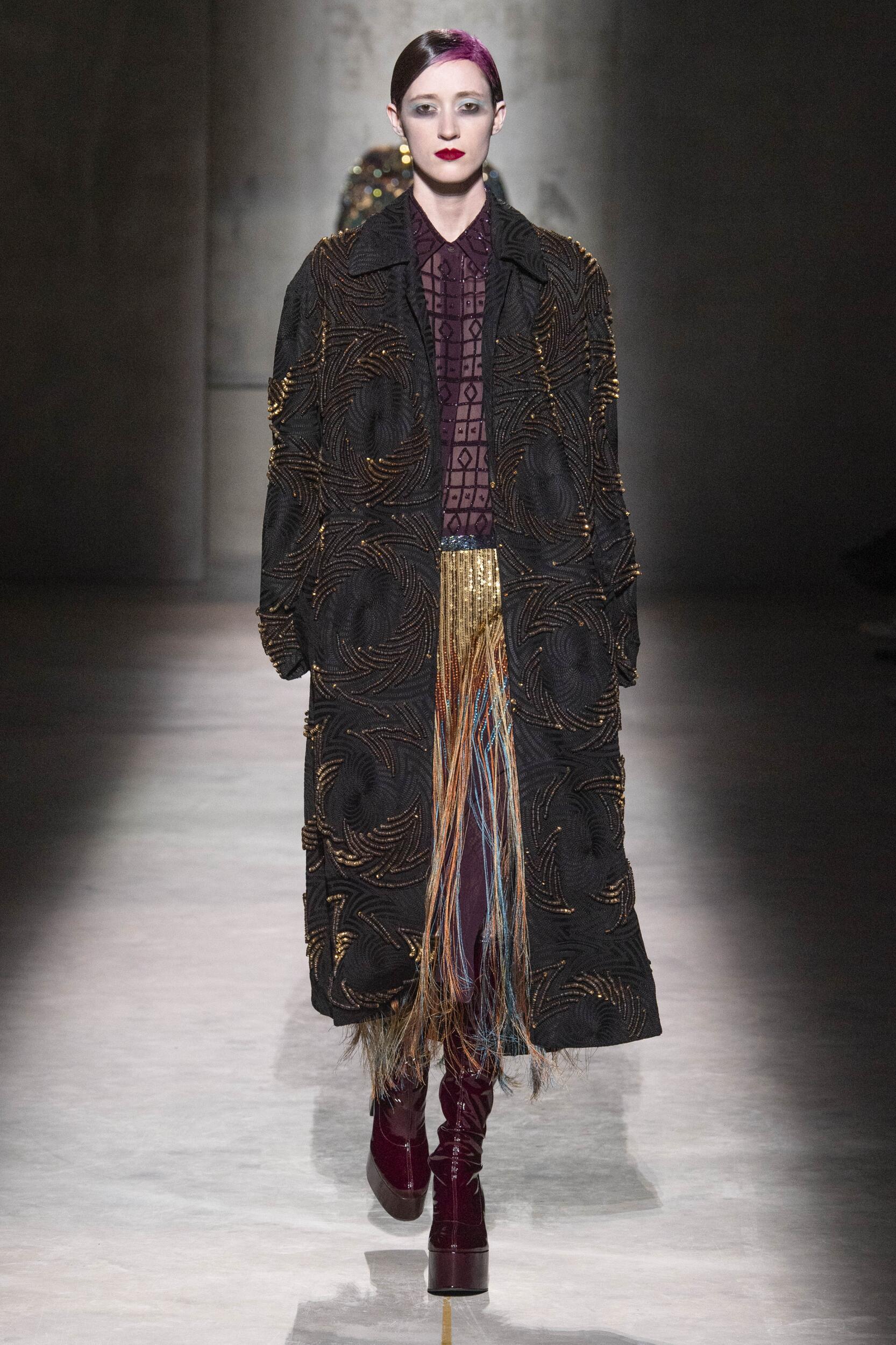 FW 2020-21 Dries Van Noten Fashion Show Paris