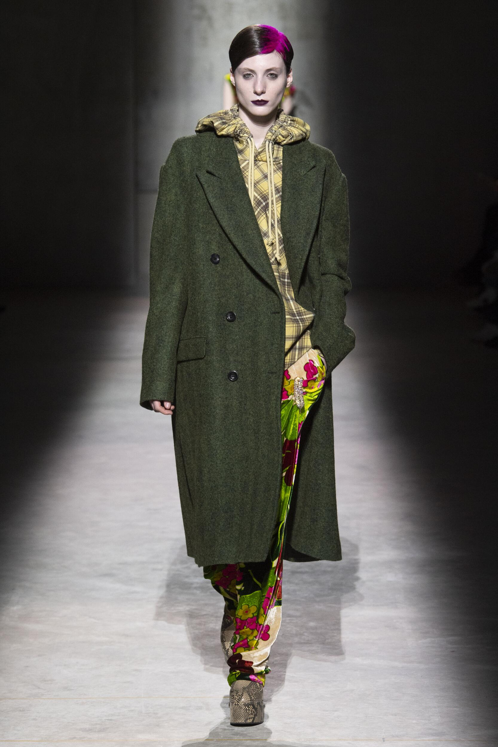 FW 2020-21 Dries Van Noten Fashion Show