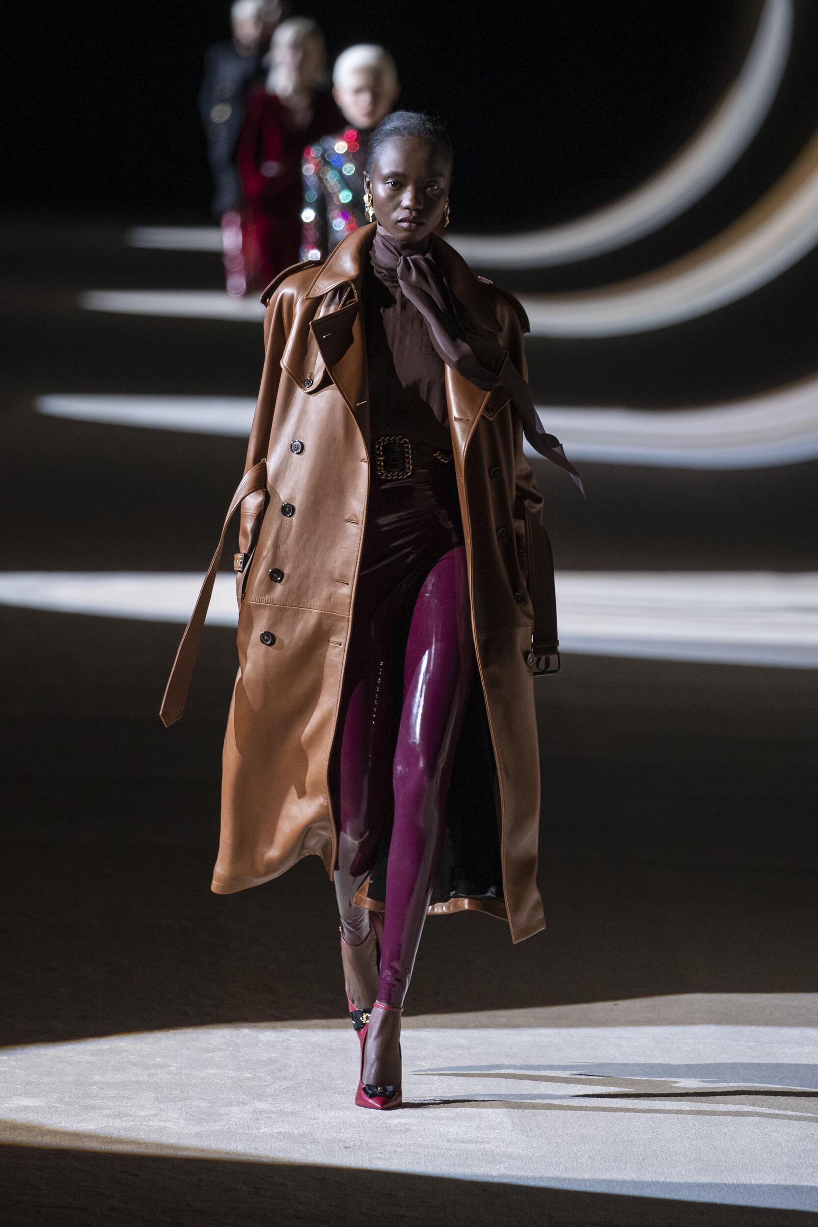 FW 2020-21 Saint Laurent Fashion Show Paris Fashion Week