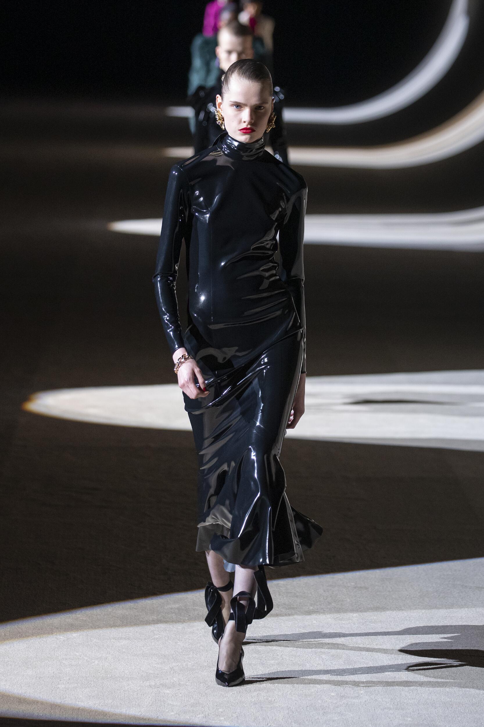 FW 2020-21 Saint Laurent Fashion Show Paris