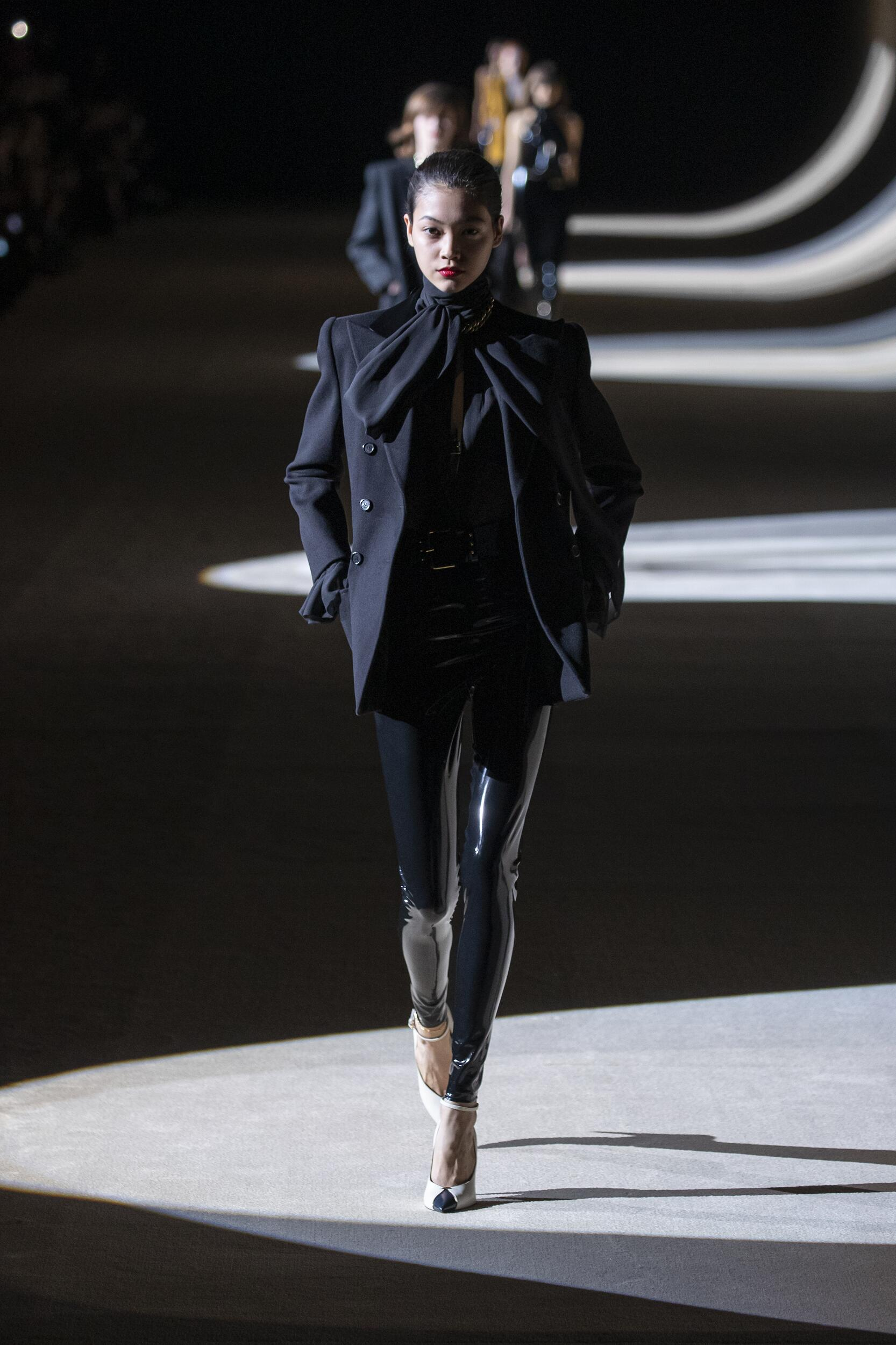 FW 2020-21 Saint Laurent Fashion Show