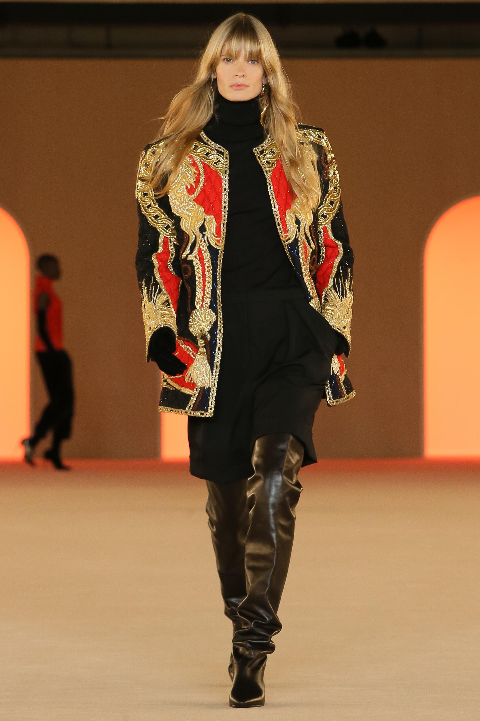FW 2020 Balmain Show Paris Fashion Week Womenswear