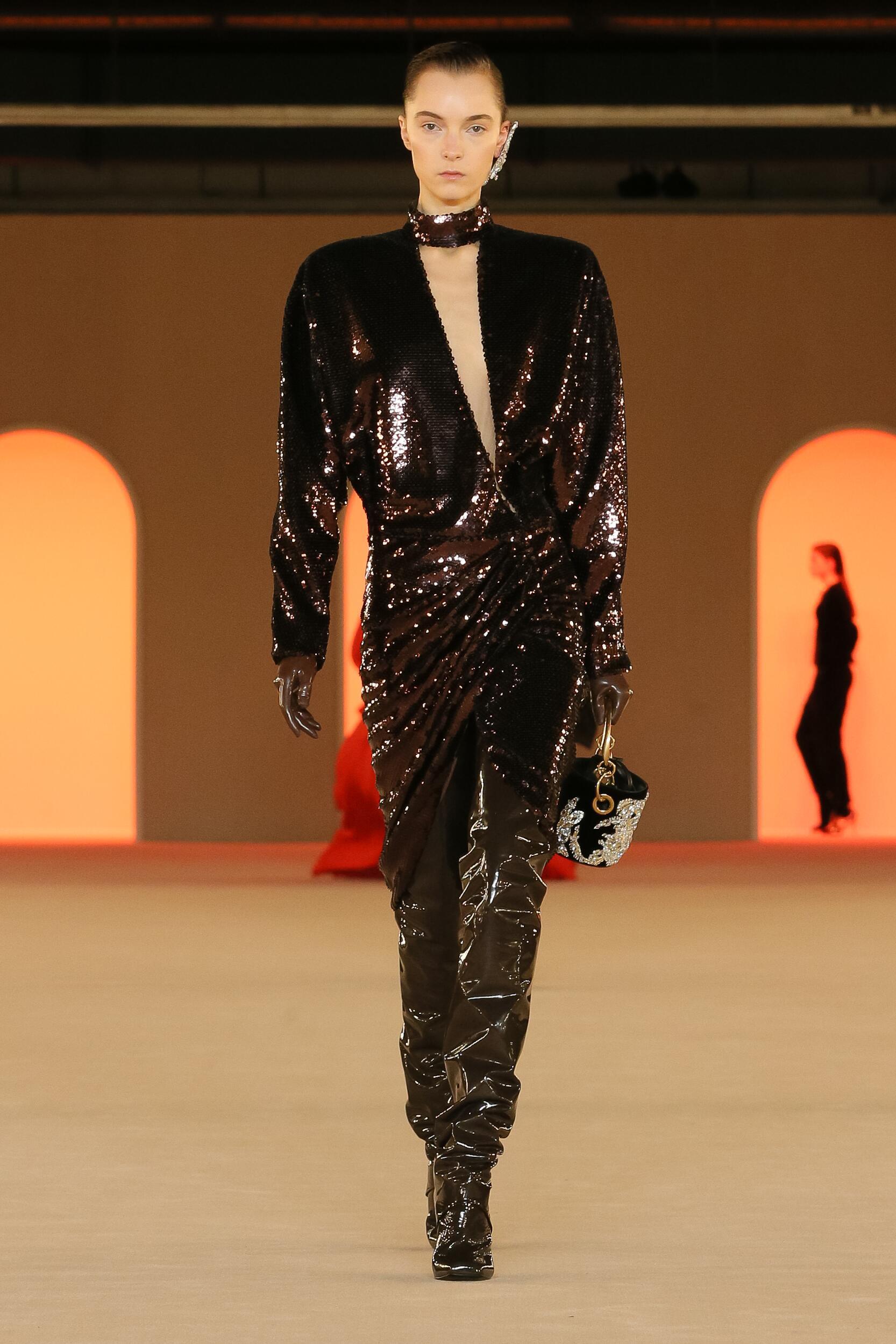 FW 2020 Balmain Show Paris Fashion Week