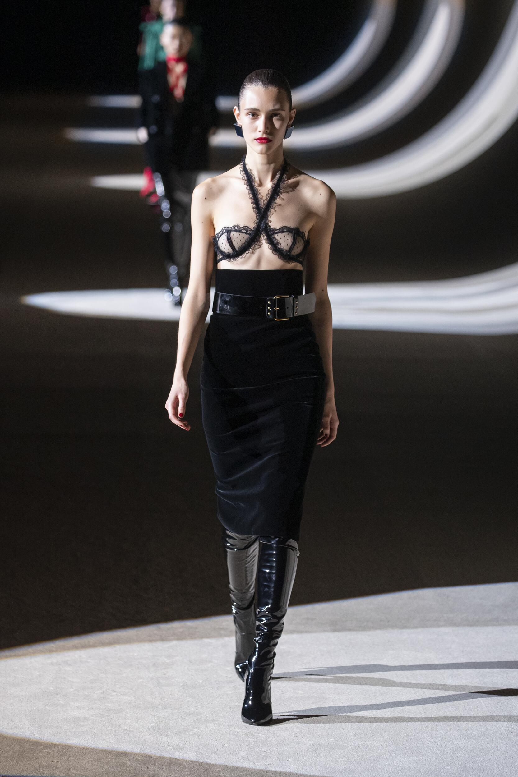 FW 2020 Saint Laurent Show Paris Fashion Week