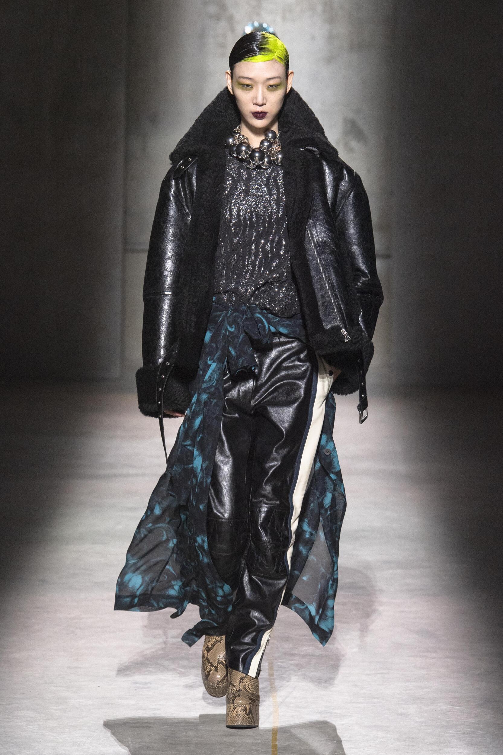 Fashion 2020 Catwalk Dries Van Noten Winter Womens Collection
