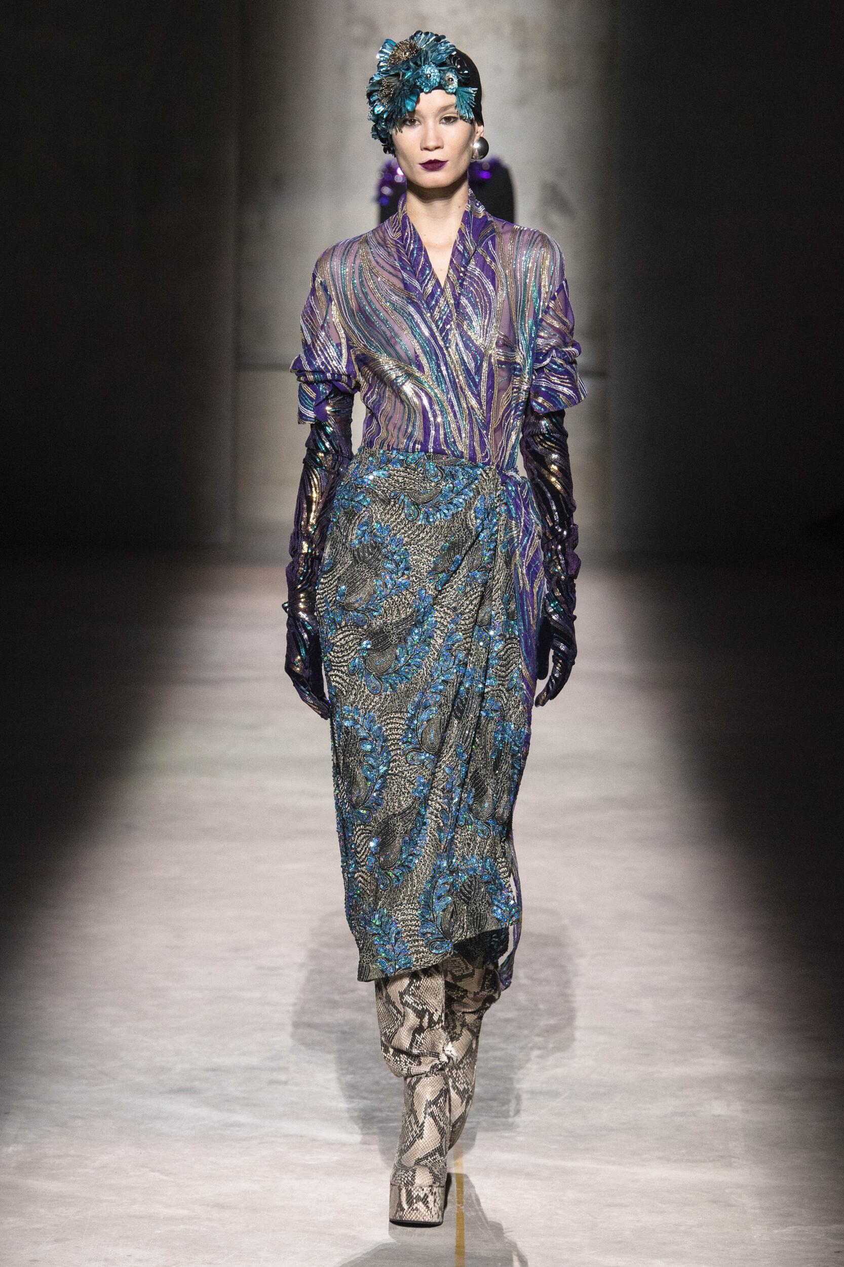 Fashion 2020 Runway Dries Van Noten Winter
