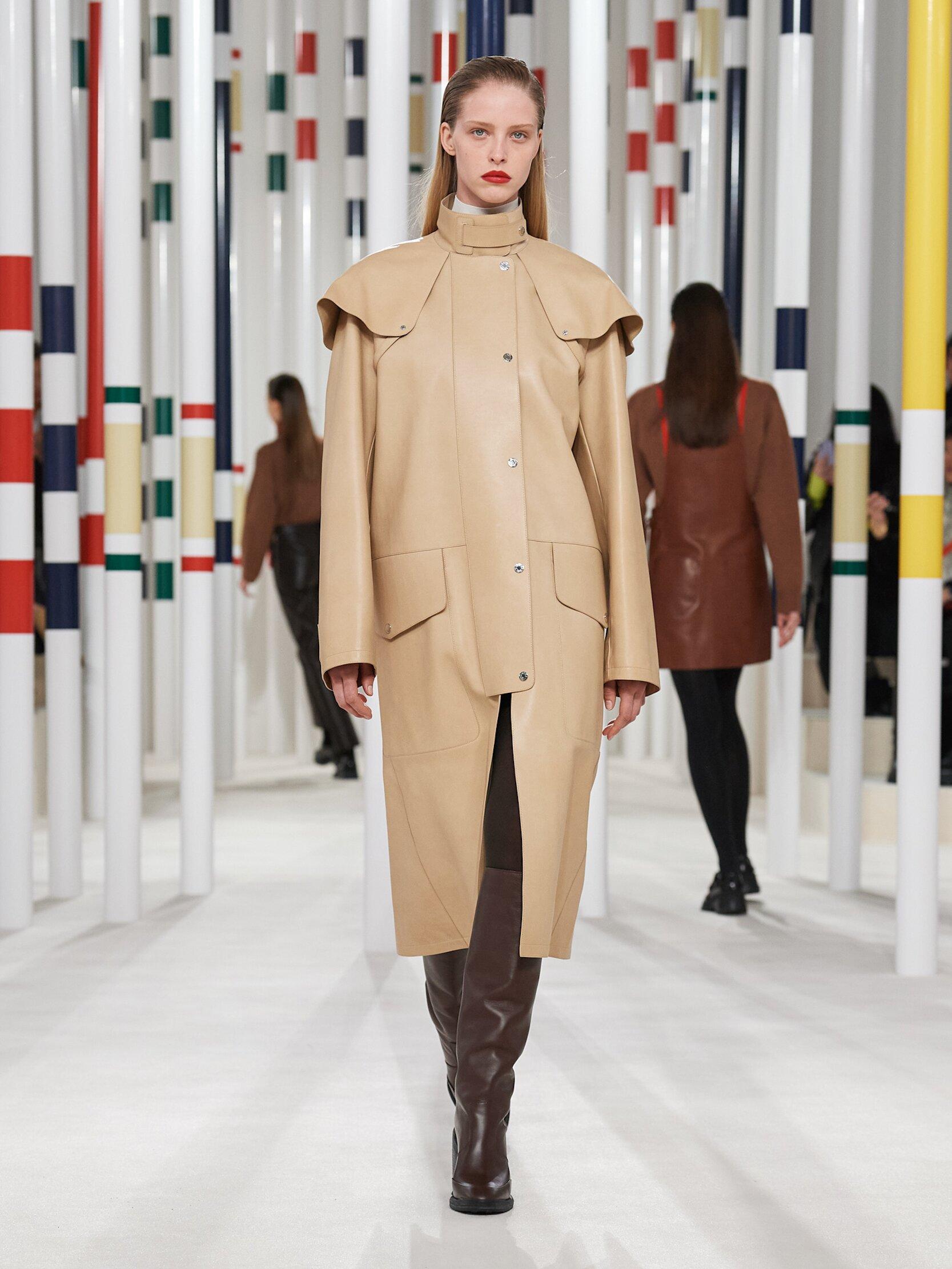 Fashion 2020 Runway Hermès Winter