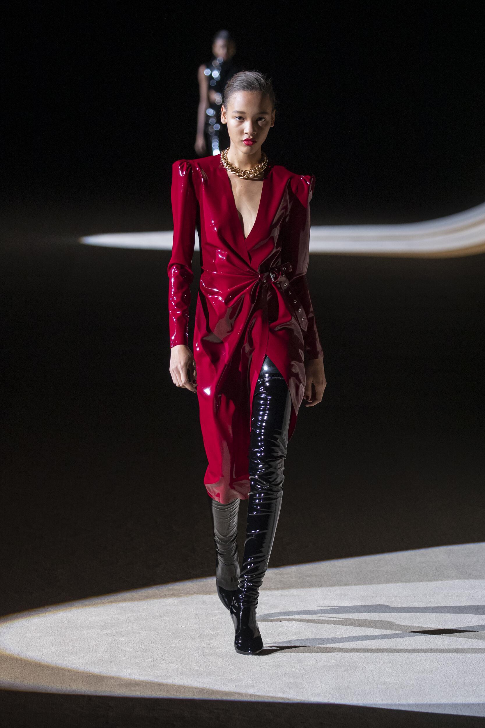 Fashion 2020 Runway Saint Laurent FW