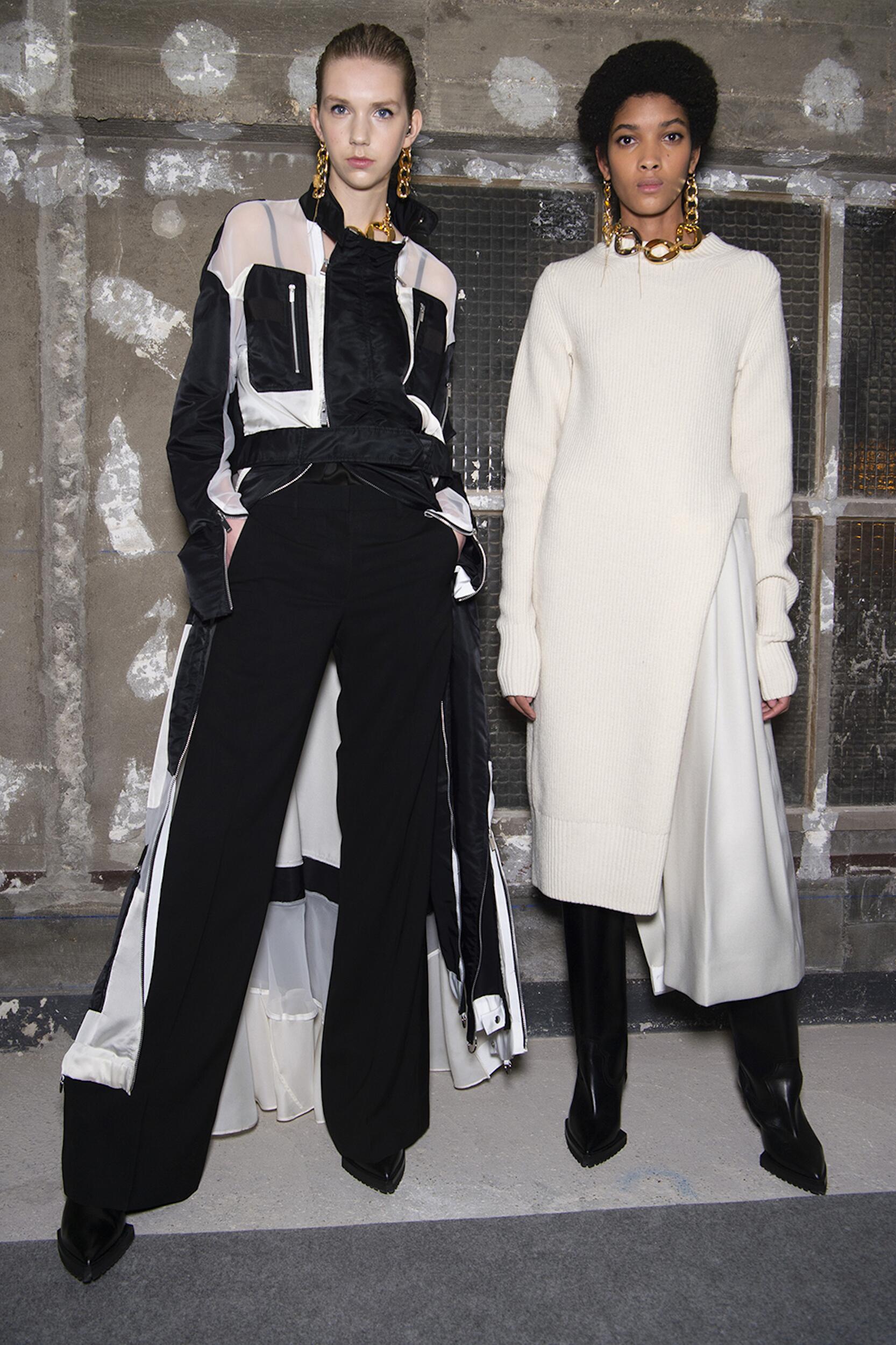 Fashion Backstage Sacai