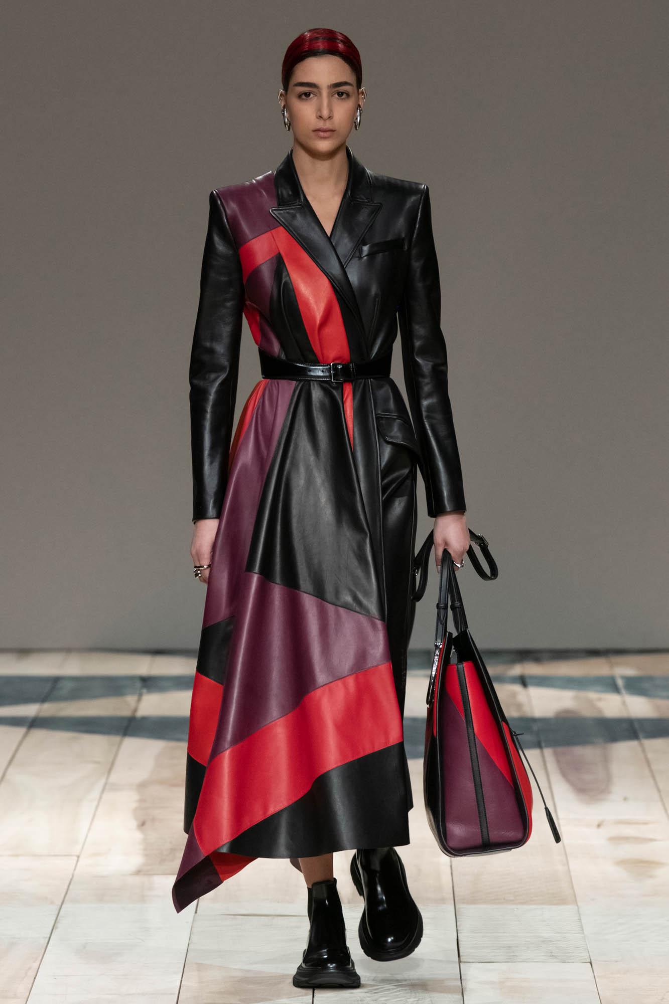 Fashion Model Alexander McQueen Catwalk