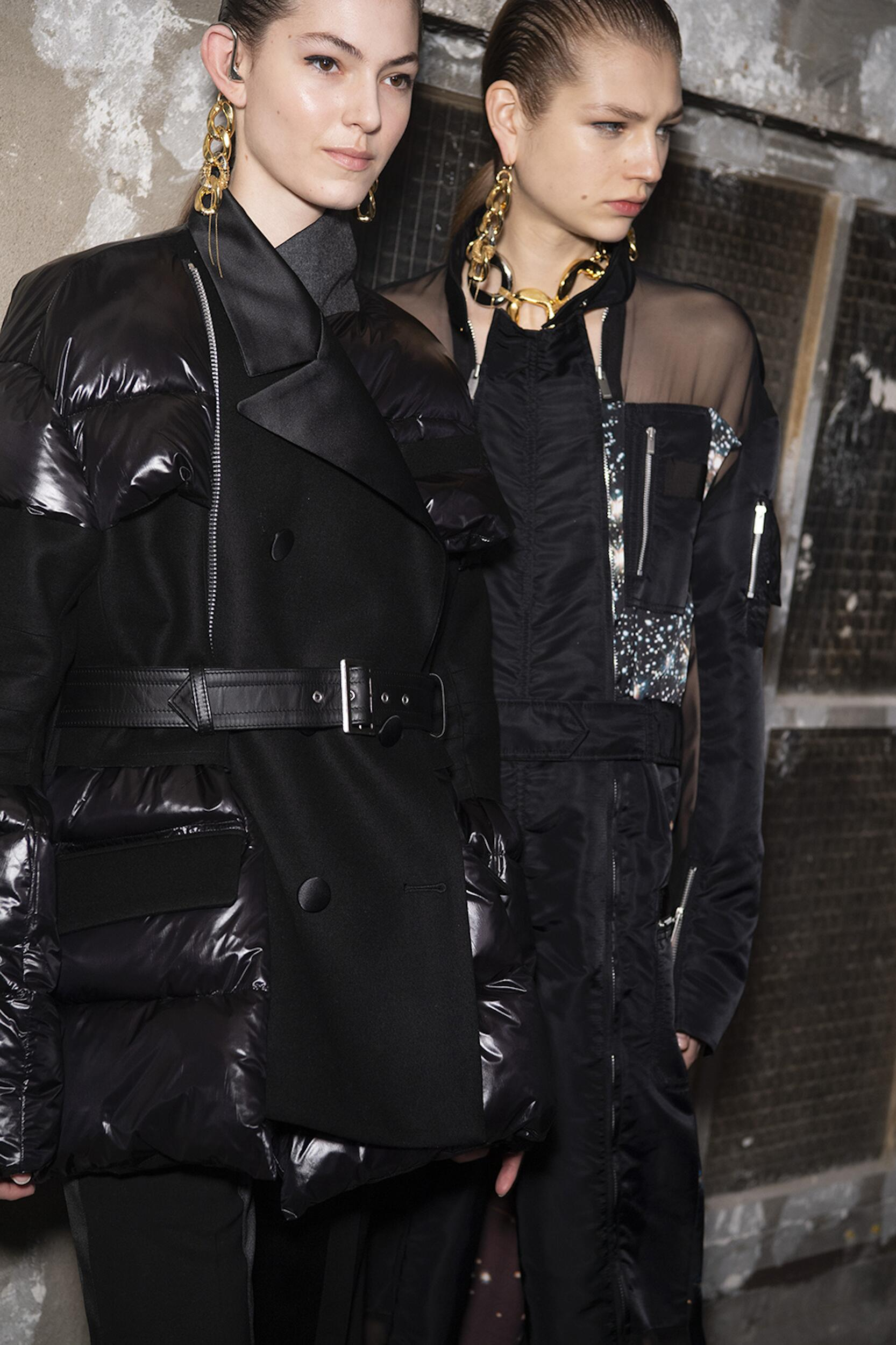 Fashion Models 2020 Backstage Sacai