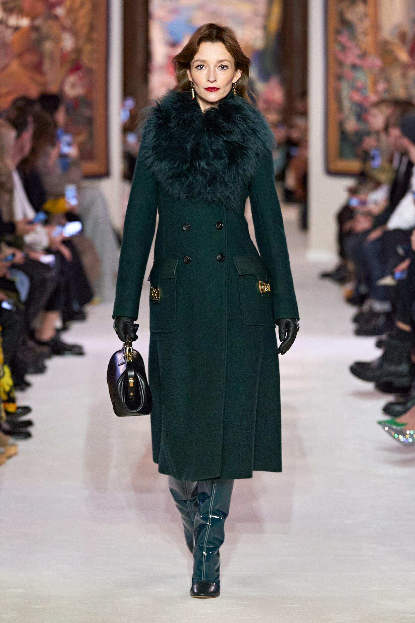 Fashion Show Woman Model Lanvin Catwalk