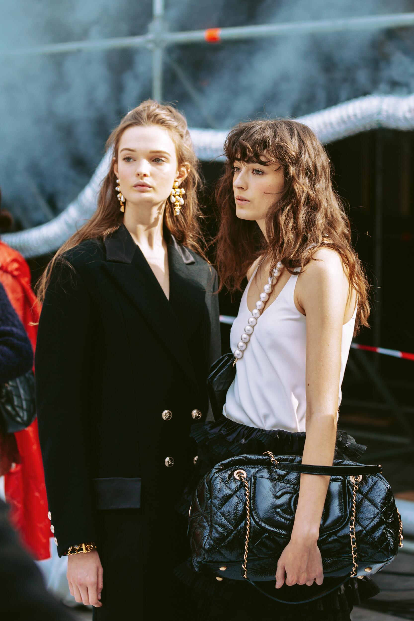 Fashion Women Backstage Chanel