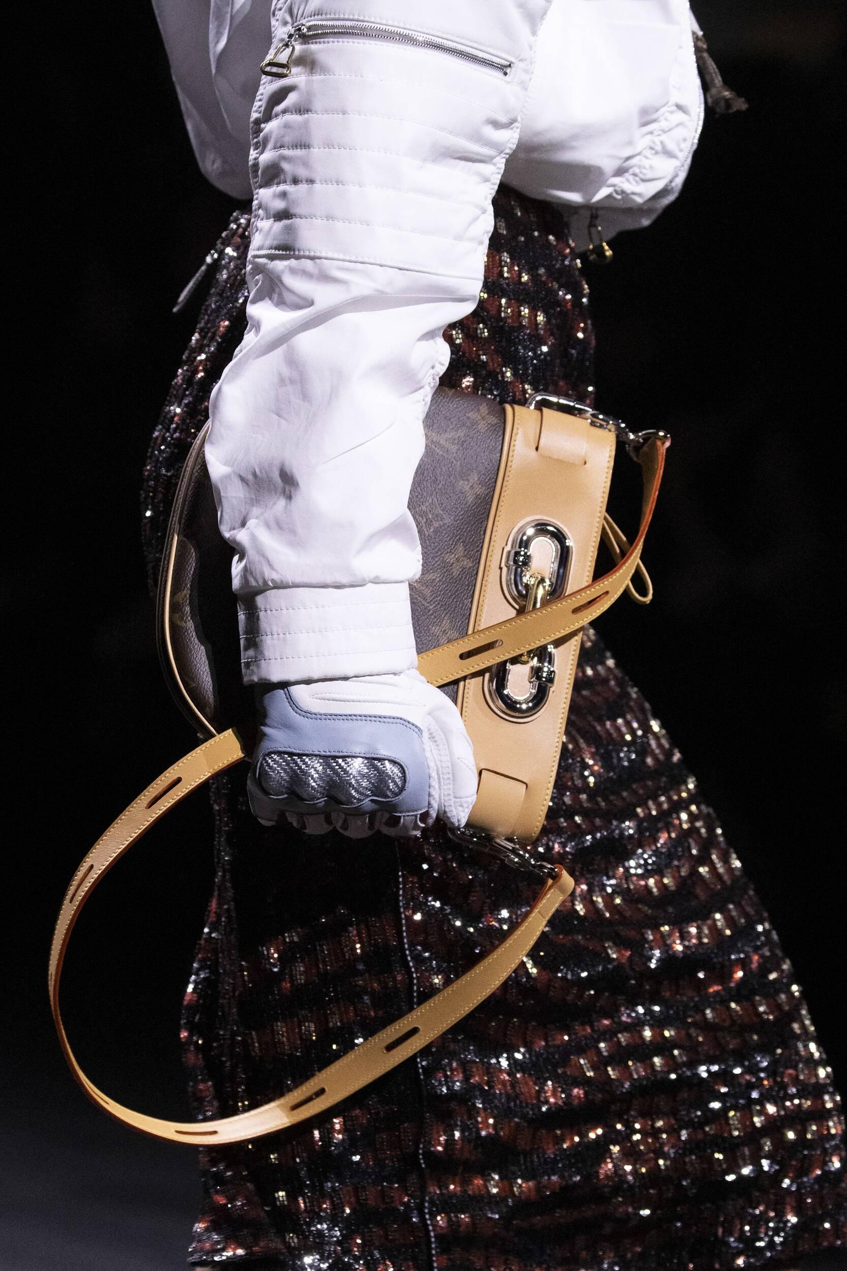 Handbag Detail Louis Vuitton Fall Winter 2020 Collection Paris Fashion Week
