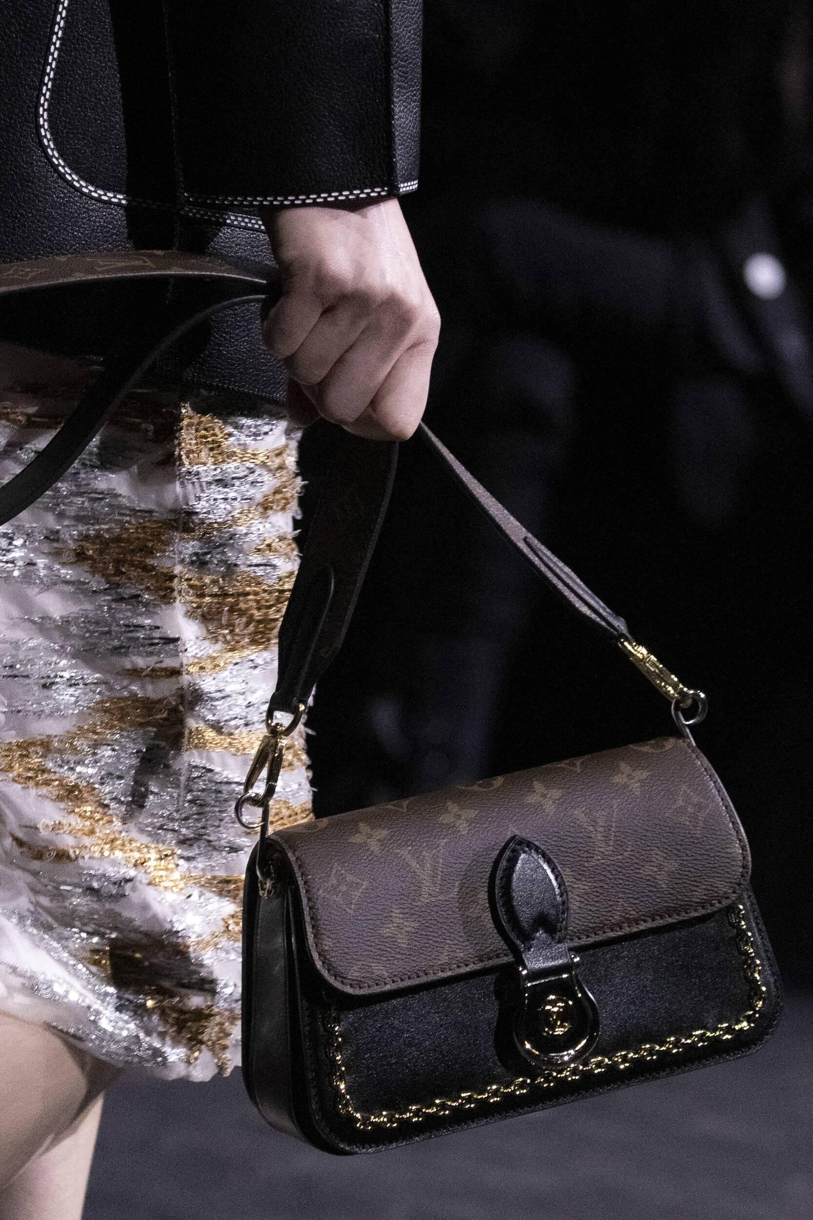 Louis Vuitton Paris Fashion Week Handbag Detail