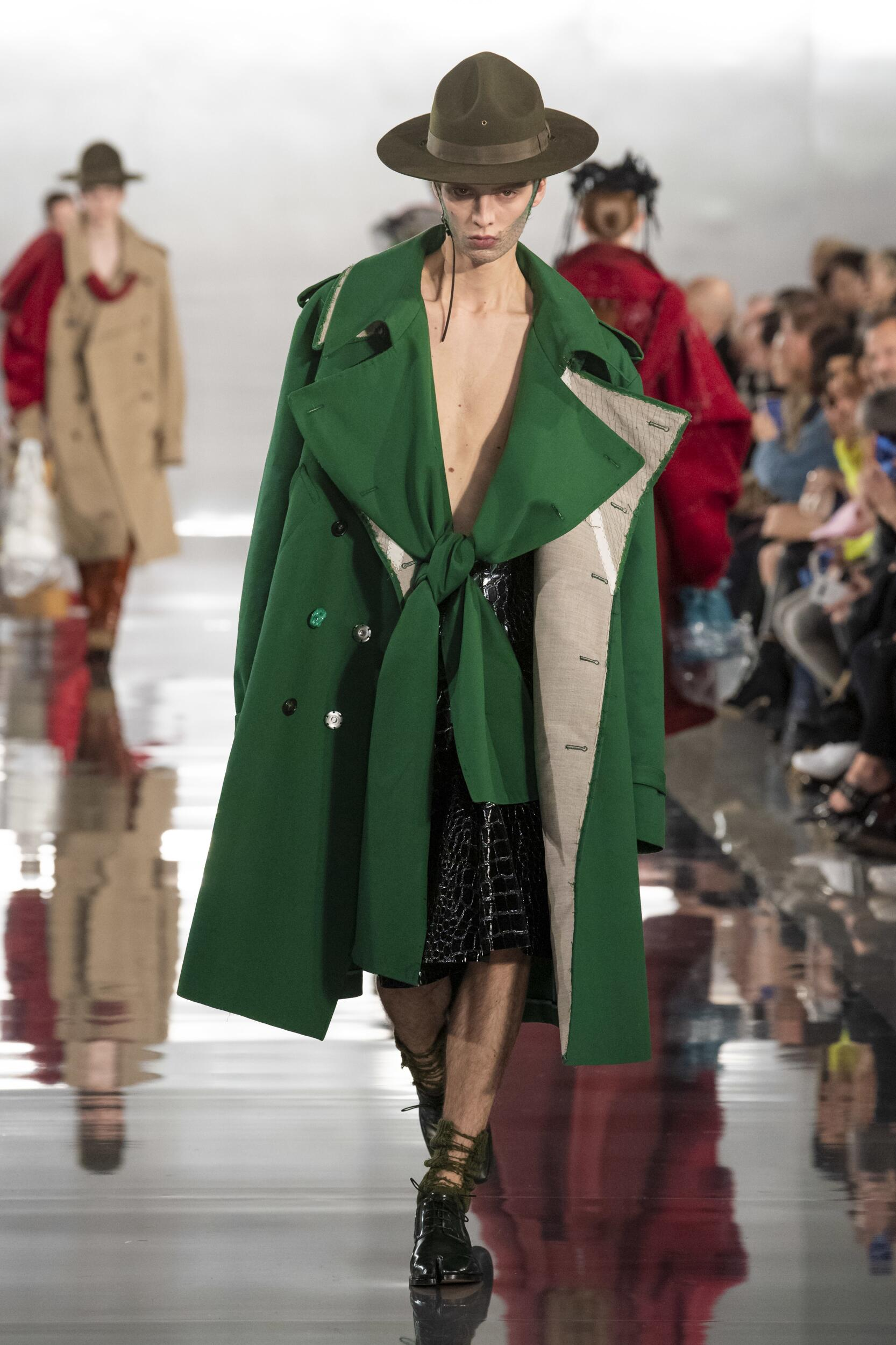 Maison Margiela Winter 2020 Catwalk