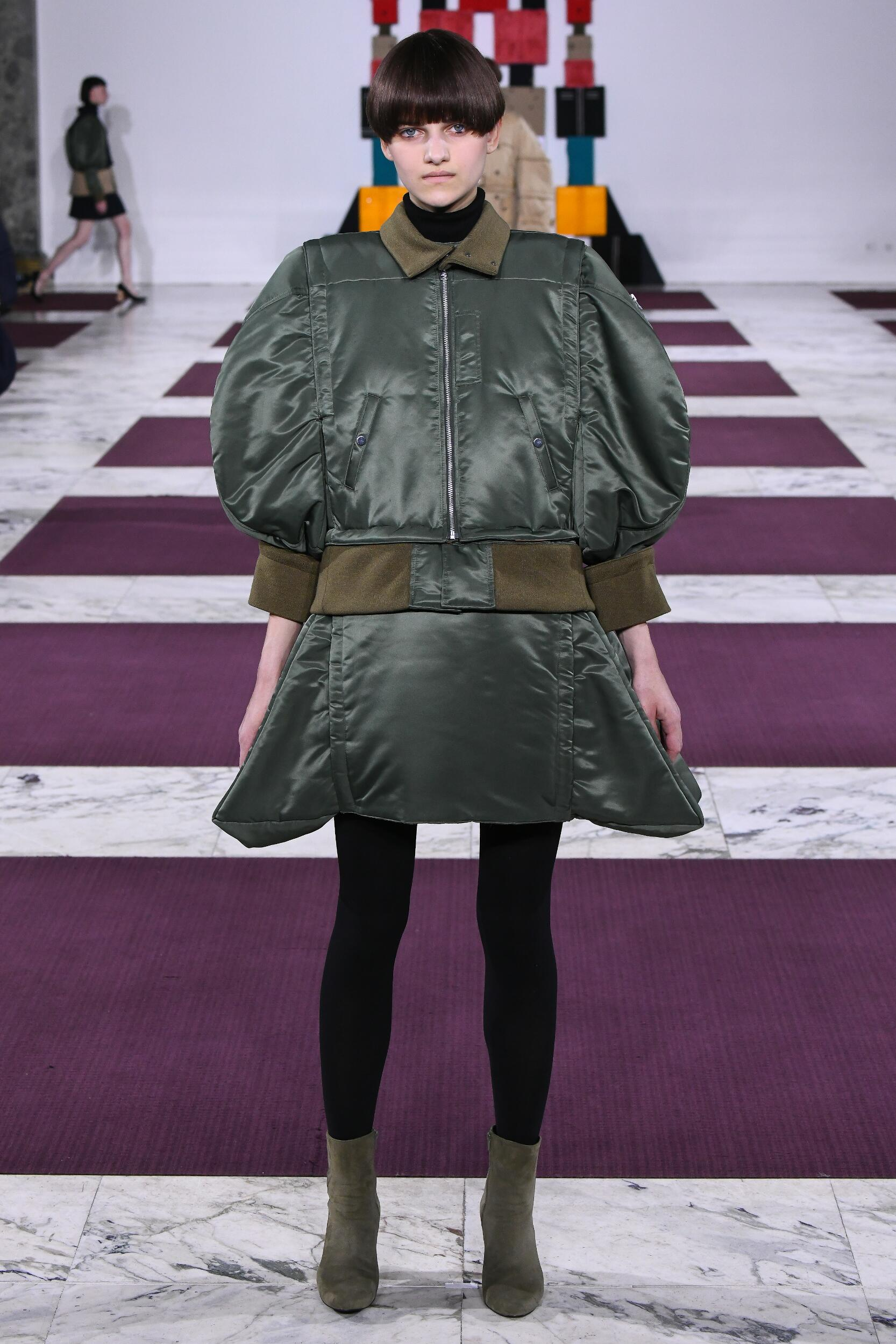 Model Fashion Show Anrealage
