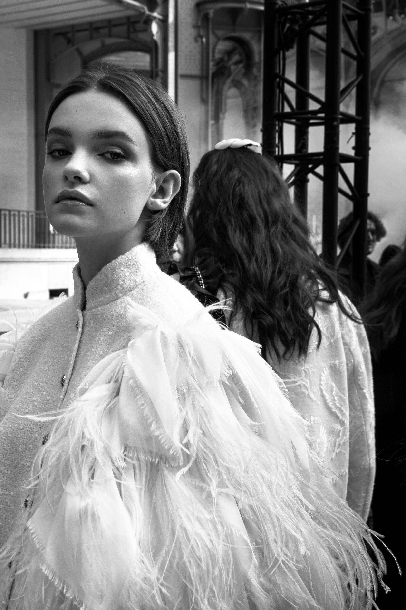 Model Womenswear Style Backstage Chanel