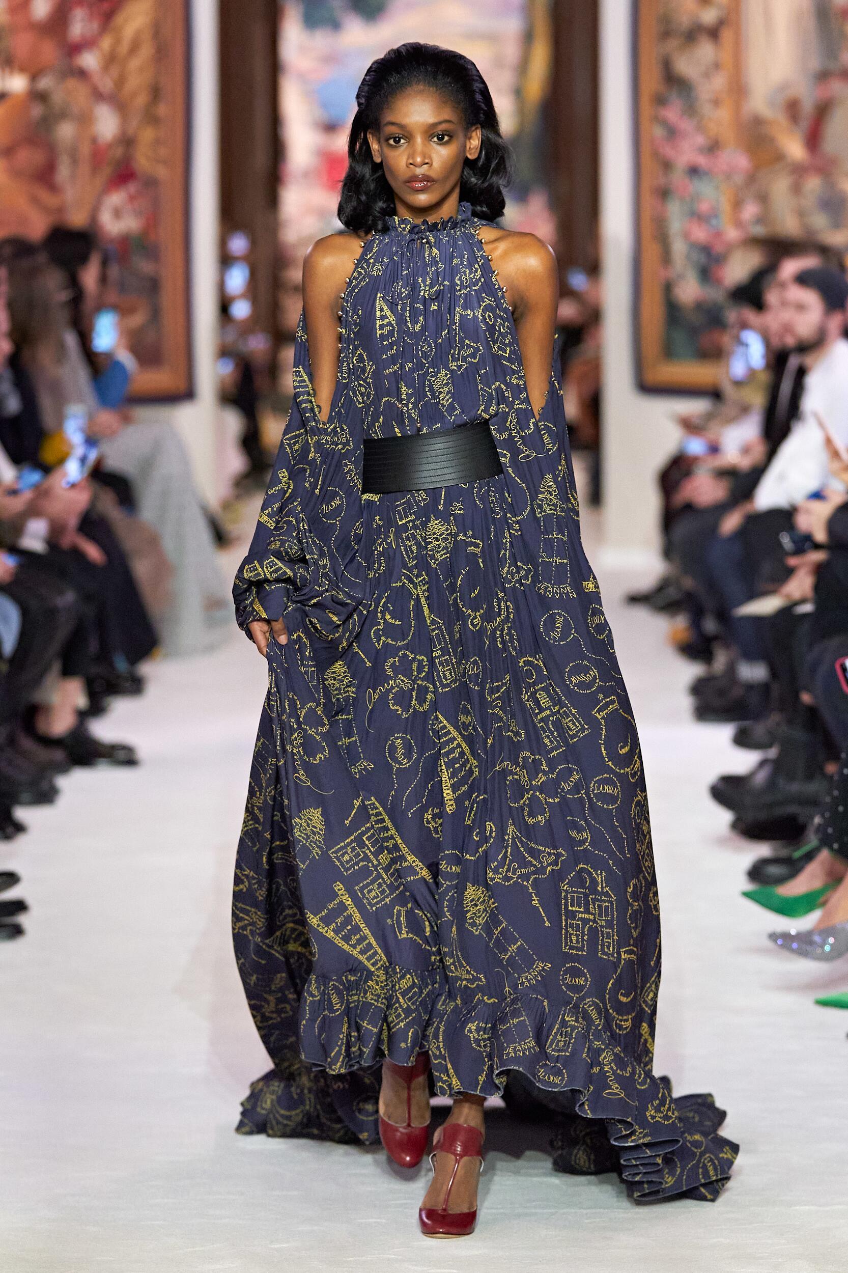 Runway Lanvin Fall Winter 2020 Women's Collection Paris Fashion Week