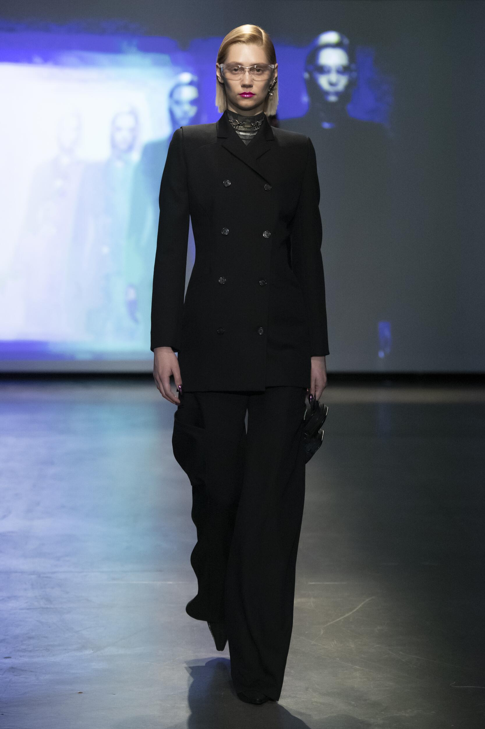 Runway Marine Serre Fall Winter 2020 Women's Collection Paris Fashion Week