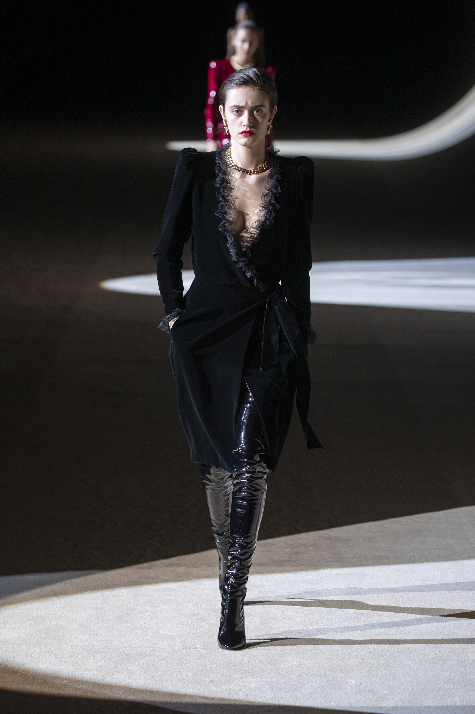 Saint Laurent 2020 Paris Trends Womenswear