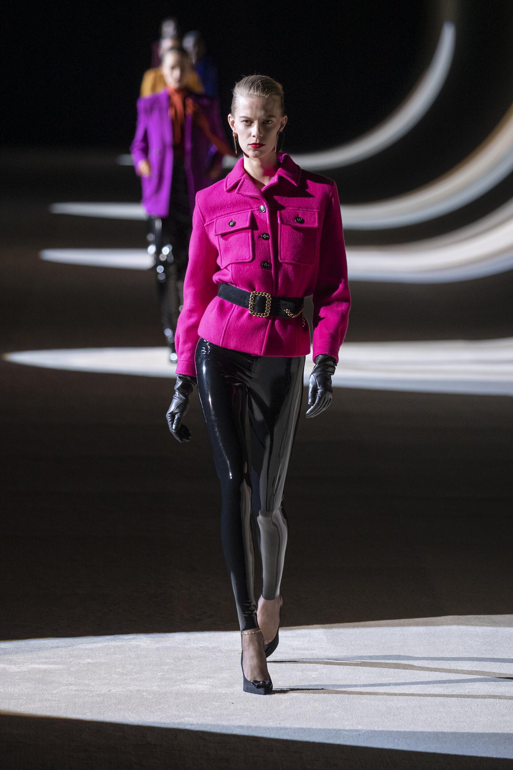 Saint Laurent Woman Style