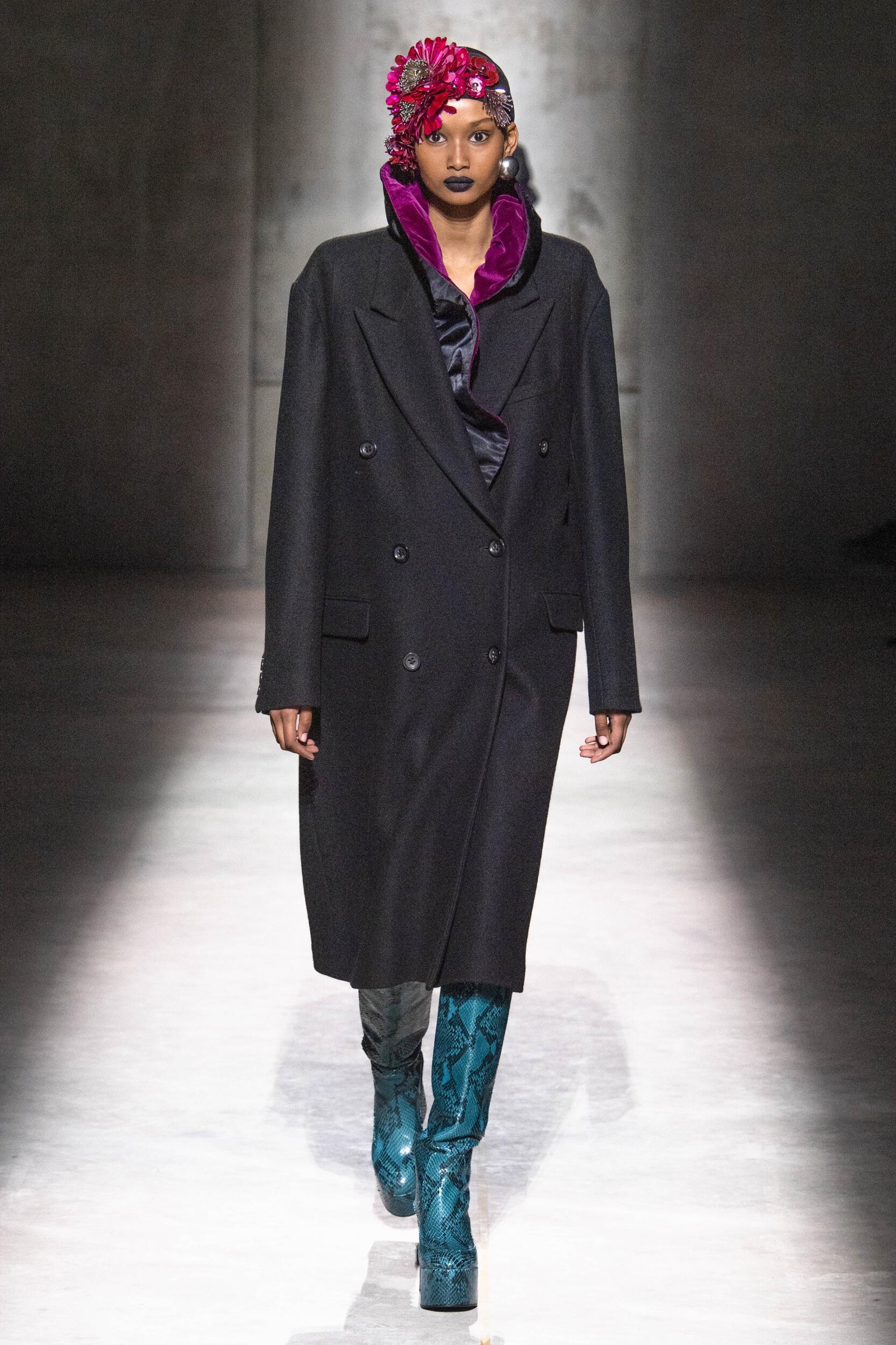 Womenswear Fall Winter Dries Van Noten 2020 Trends