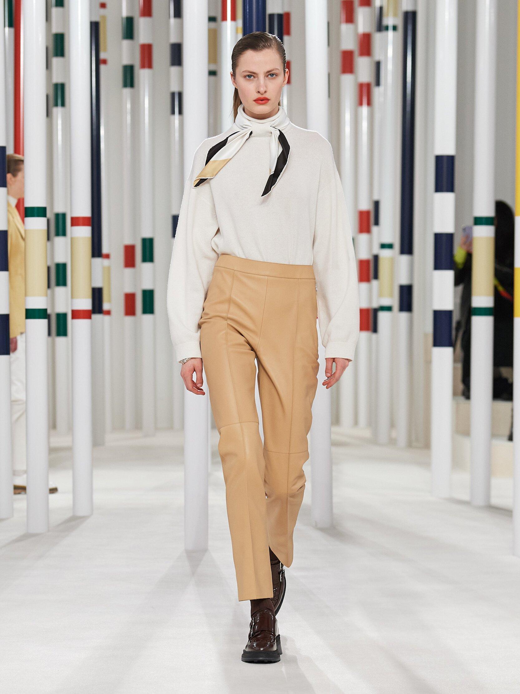 Womenswear Fall Winter Hermès 2020 Trends