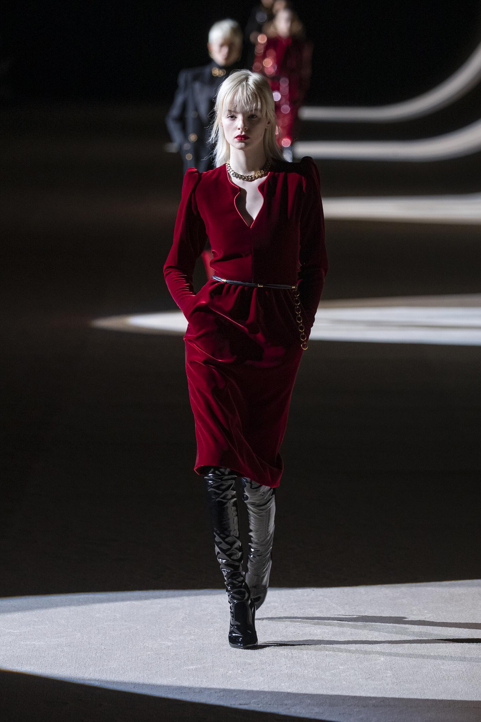 Womenswear Fall Winter Saint Laurent 2020 Trends