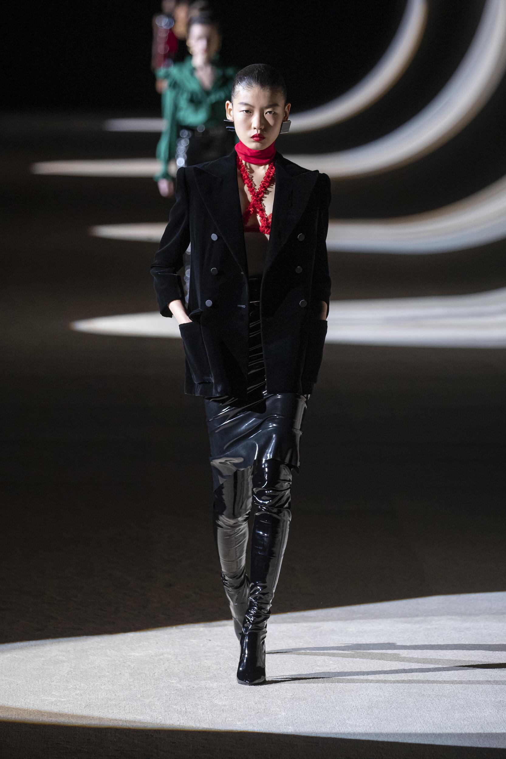 Womenswear Fall Winter Saint Laurent 2020