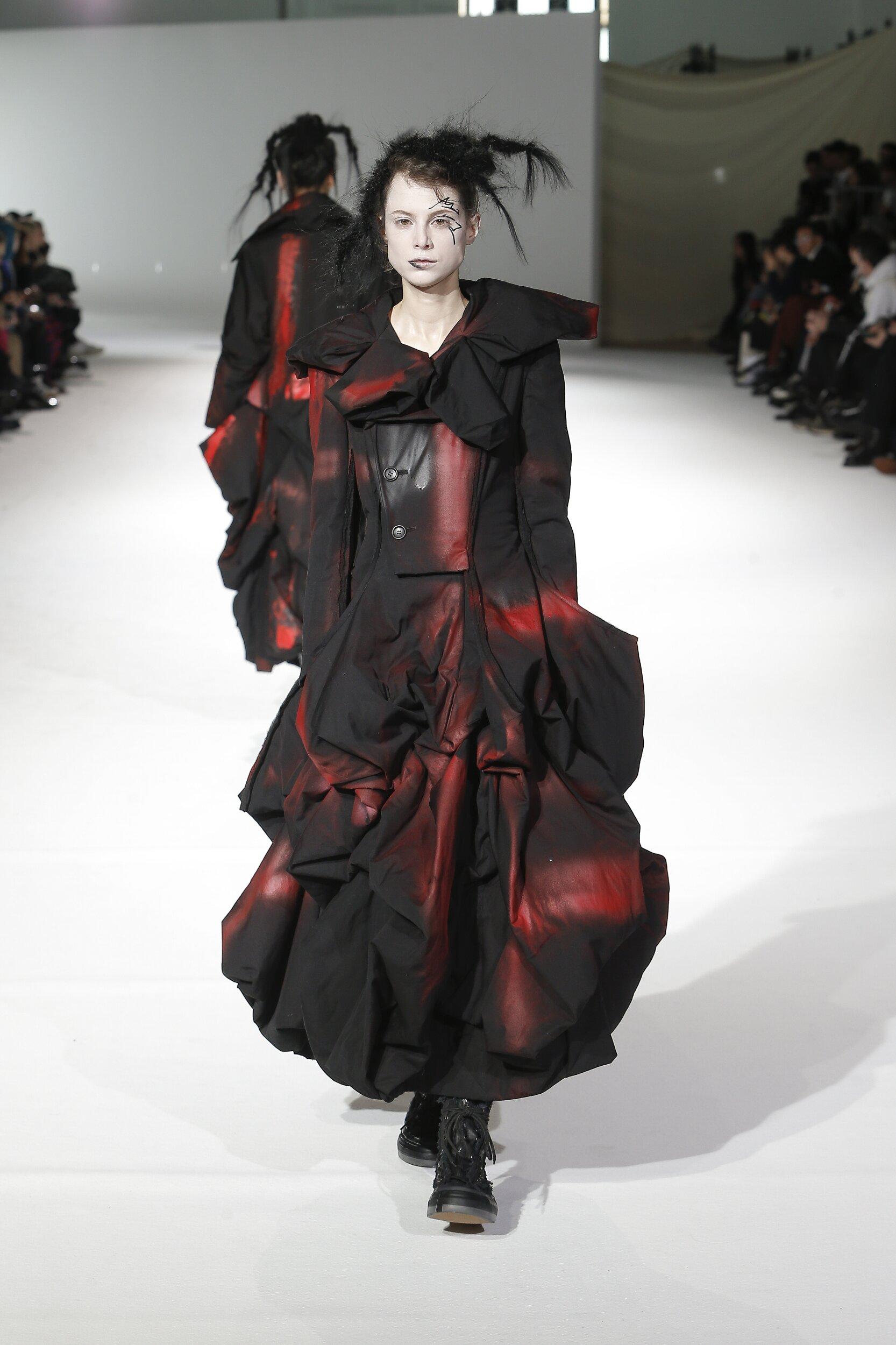 Yohji Yamamoto FW 2020 Womenswear